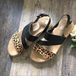 Aerosoles | Globetrotter Cheetah Calf Hair Sandals